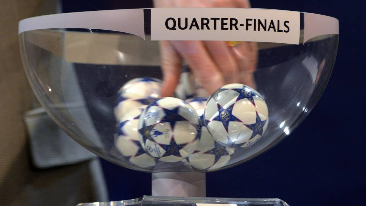 Champions League Draw Update: UEFA Champions League And Europa League Quarter-final