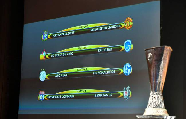 Champions League And Europa League Quarter Final Draws As They