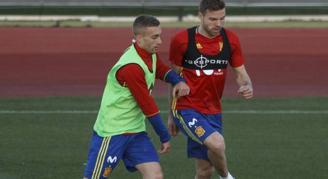 Deulofeu and Illarramendi in Monday's session