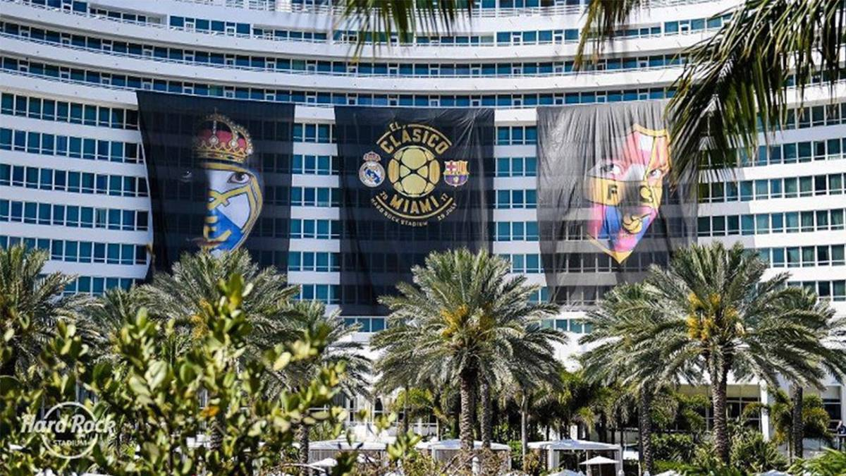 Tickets are hot for Real Madrid v Barcelona match in the International Champions Cup. According to The Miami Herald, more than 46,000 have gone.