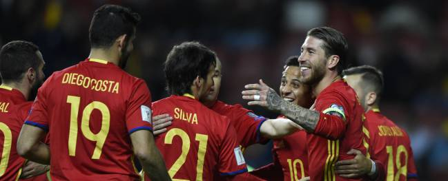 Spain 4-1 Israel: World Cup 2018 qualifier