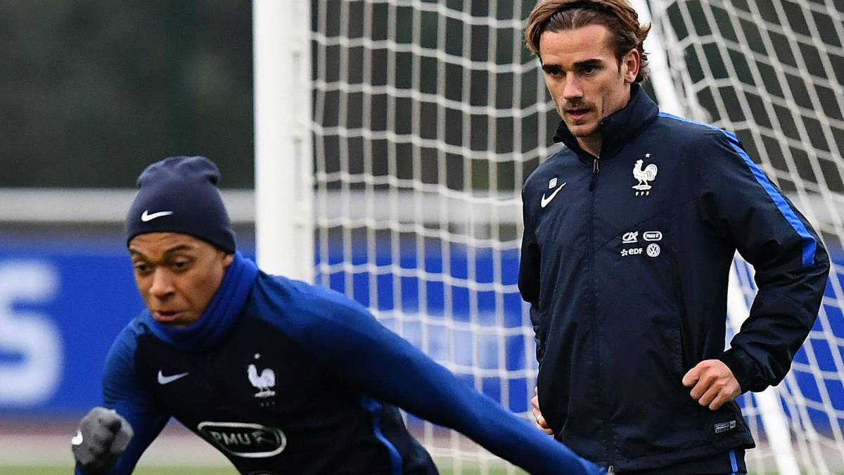 "Griezmann on Mbappé: ""He's the one who's going to bench us"""