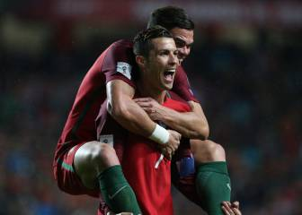 Portugal keep pressure on Swiss against hapless Hungary