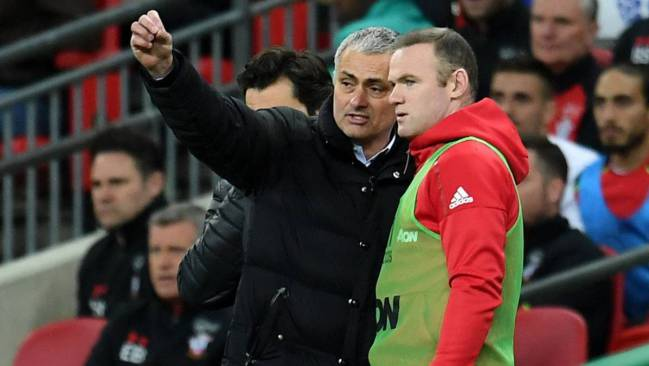 José Mourinho and Rooney