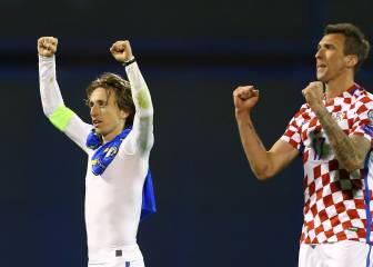 Croatia excuse Modric from Estonia friendly