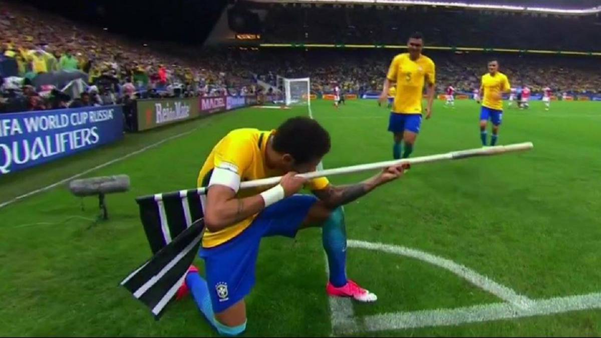 Neymar sniper celebration for Brazil could mean Fifa sanctions
