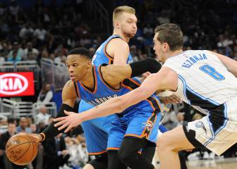 Westbrook lands 57 in 38th triple-double for the season