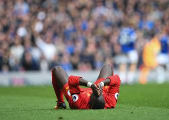 Liverpool forward Mané injured in Merseyside derby win
