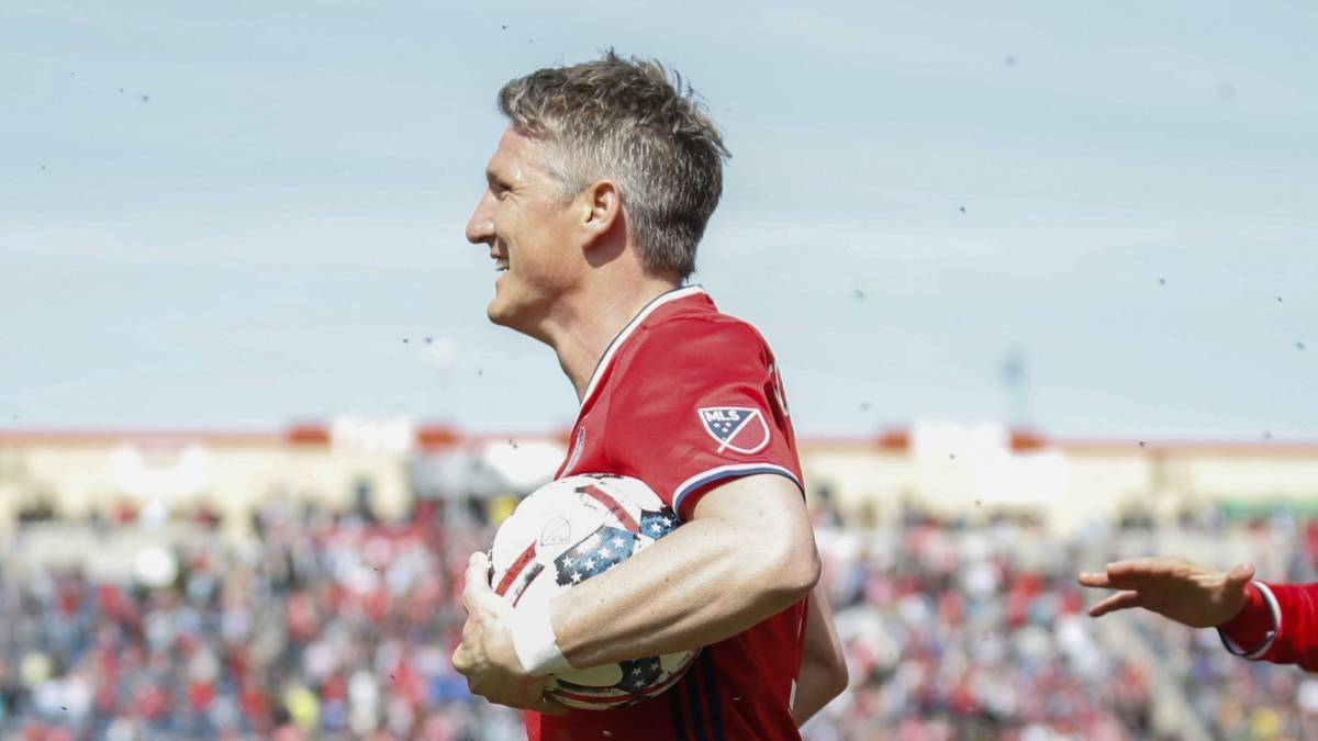 Schweinsteiger scores on Chicago Fire MLS debut against Montreal