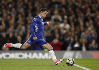 Sensational Hazard at the double as Chelsea win