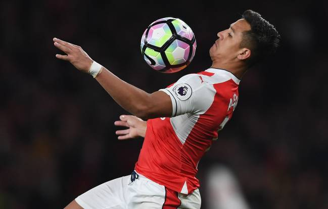 Alexis Sánchez in action against West Ham mid-week