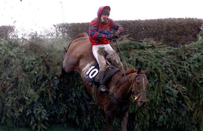 Richard Guest on Red Marauder won the National at 33/1 back in 2001.
