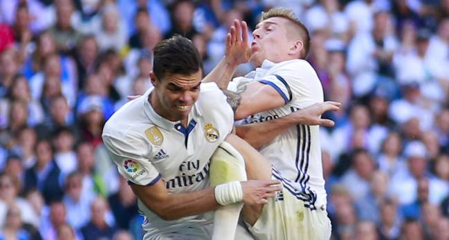 Real Madrid | Pepe has fractured his 7th and 8th ribs - AS com