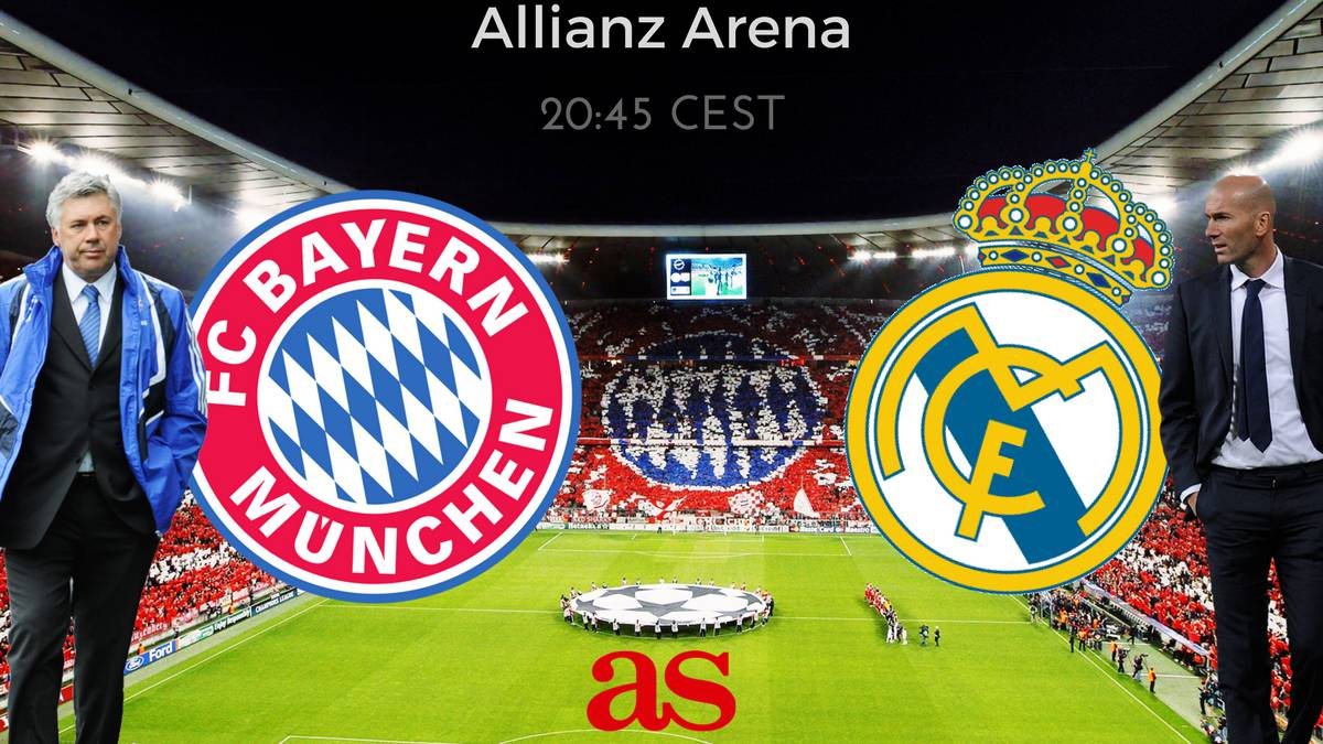 Bayern Munich vs Real Madrid: how and where to watch: times, TV, online