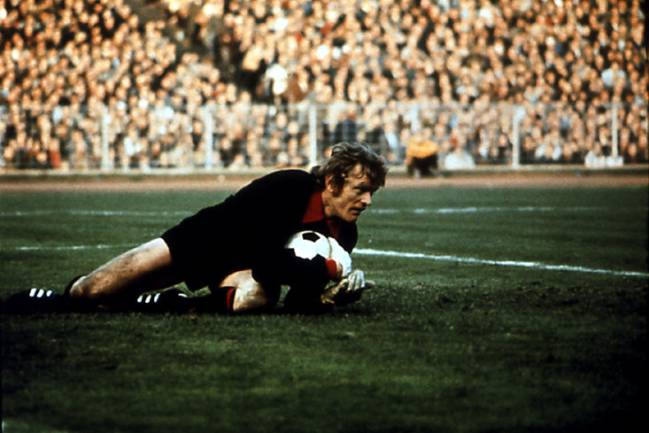 Sepp Maier in action in an archive picture from the 1970s
