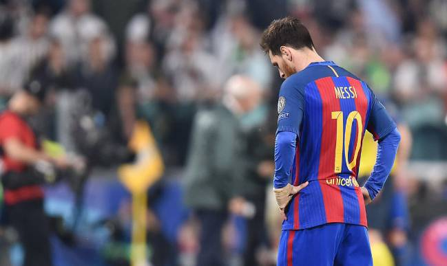 Lionel Messi will need to show some magic to get Barcelona to the semis.