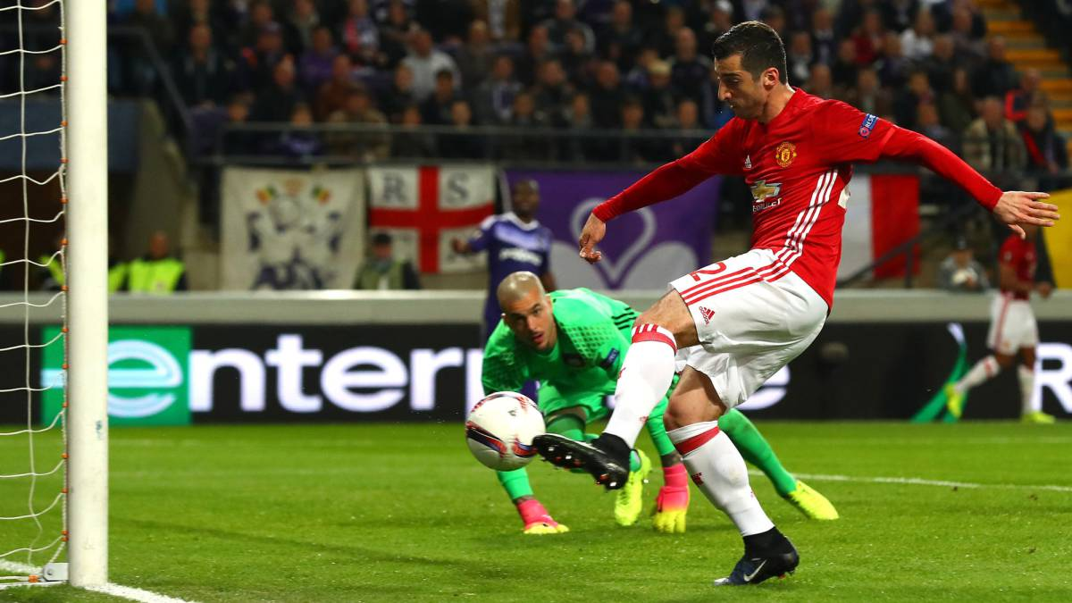 Anderlecht vs Manchester United Europa League 2016/17 quarter-final first leg: Match report, as it happened goals, action