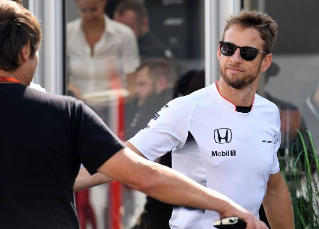 Jenson Button pictured at the Japanese Grand Prix in Suzuka last year.