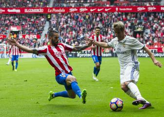 Coentrao makes first start in 164 days in Real win in Gijón