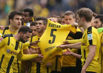Dortmund bounce back as Bartra leaves hospital