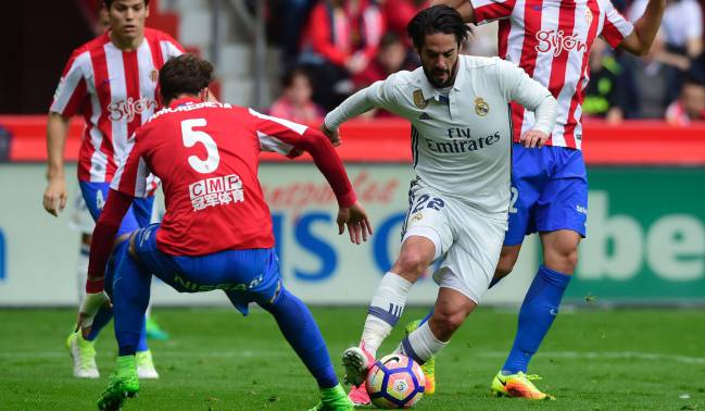 Isco's match against Sporting Gijón was a work of art