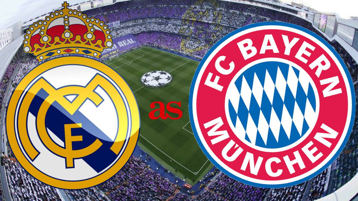 All the information on how, where and when to watch Real Madrid - Bayern Champions League quarter final second leg at the Bernabeu at 20:45, 18 April 2017