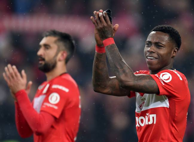 Samedov and Promes.