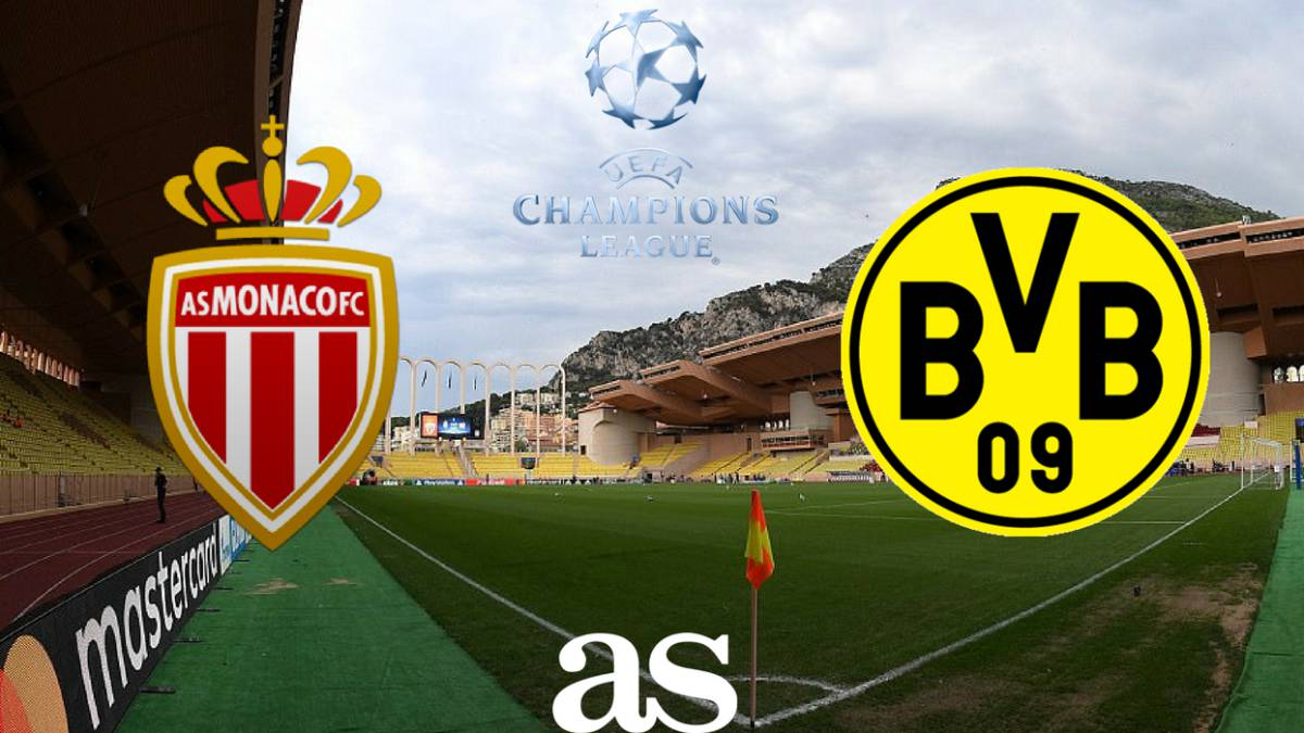 Monaco vs Borussia Dortmund: how and where to watch: times, TV, online