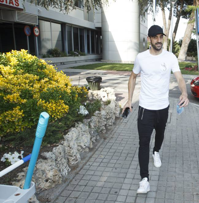 The Croatian is not yet at full fitness, but his ongoing recovery will be a boost to Simeone following Juanfran's injury in the Champions League.