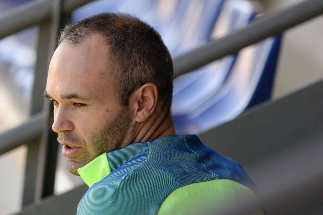 Andrés Iniesta's 519-day goal drought in LaLiga