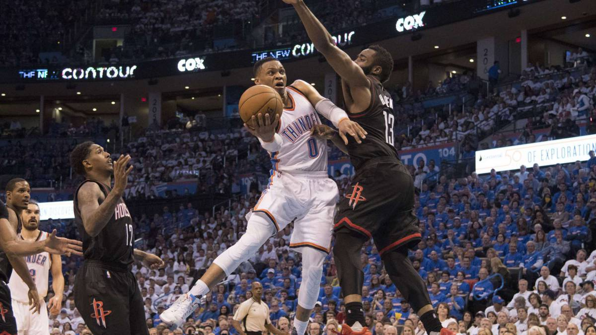 NBA playoffs round-up: Thunder survive Rockets, claw back in series