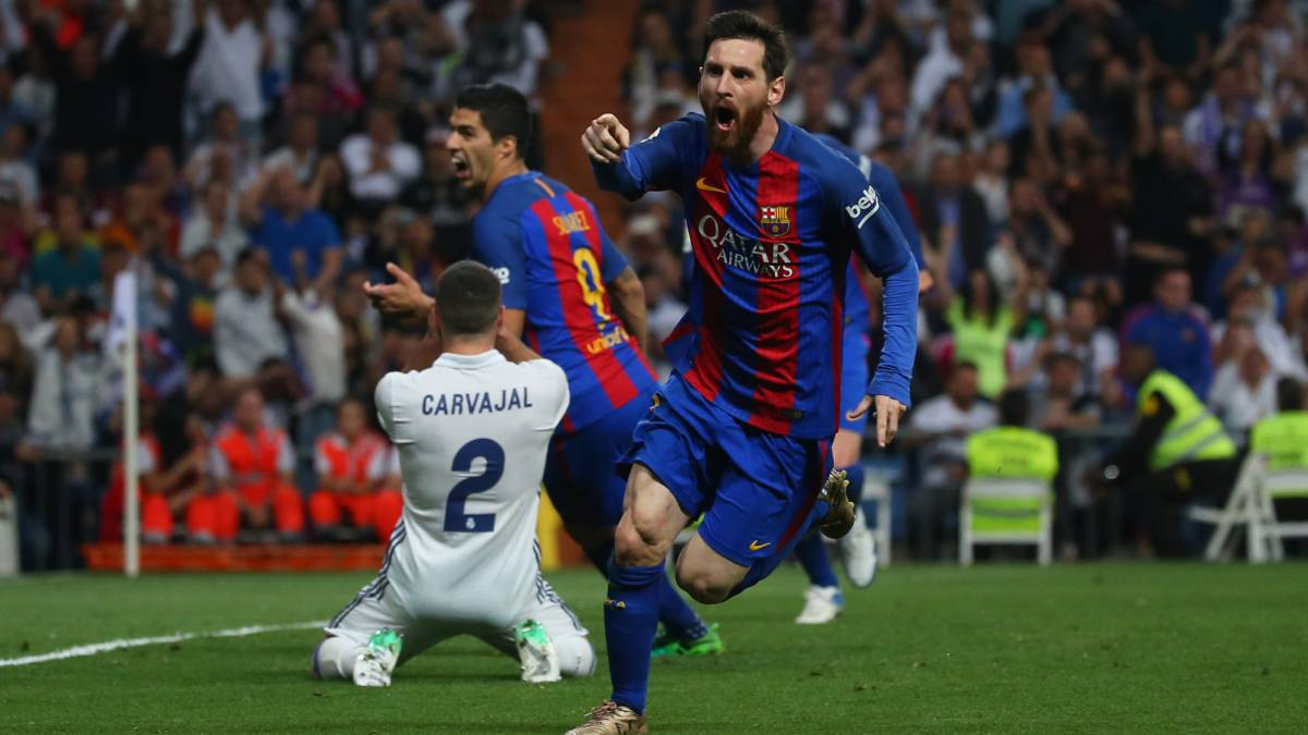 real madrid 2 3 barcelona el clasico laliga goals action match report