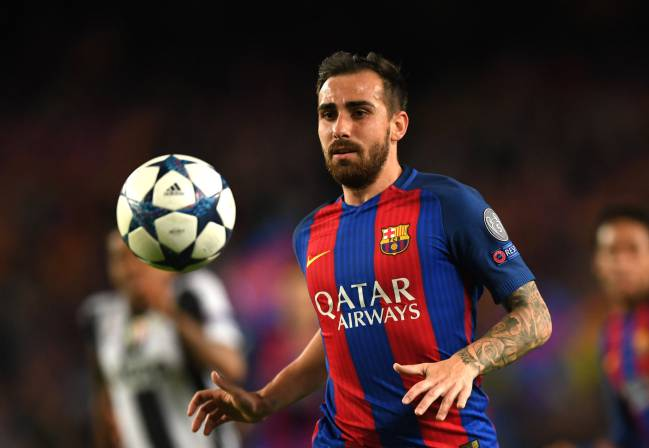Zidane opts for Bale over Isco for Real Madrid, while Barcelona coach Luis Enrique starts with Paco Alcácer in the absence of Neymar through suspension