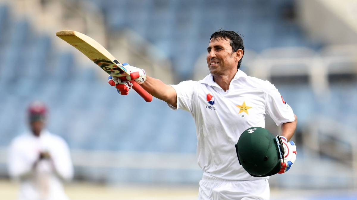 Younis Khan joins 10,000 club in first test against West Indies