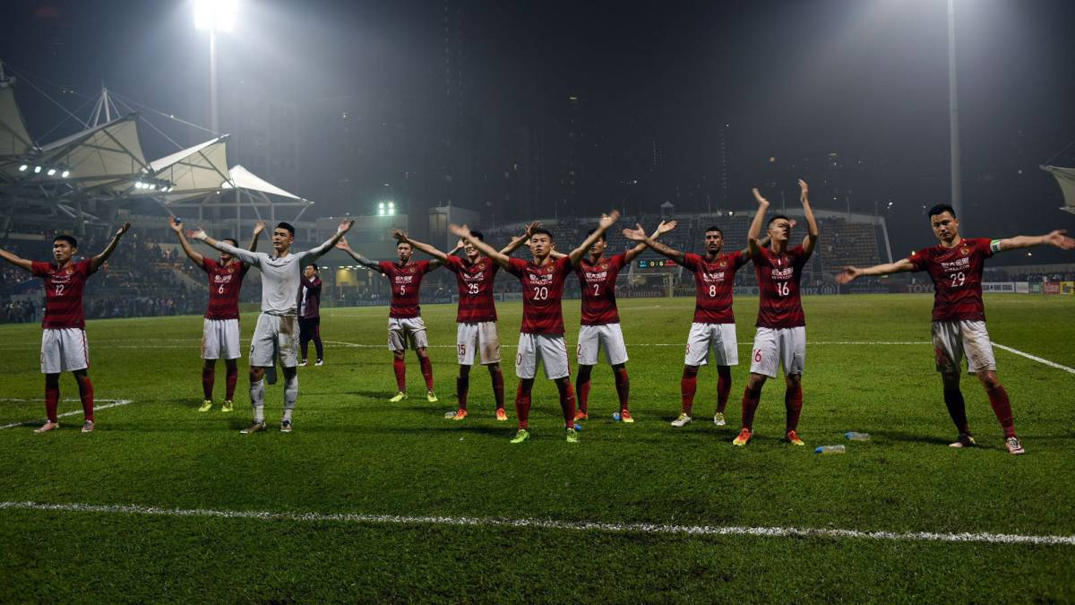 Scolari's Evergrande stun Eastern and female coach 'Beef Ball'