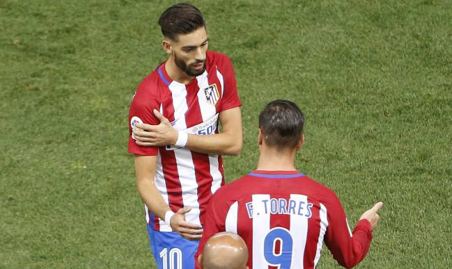 Torres comes on for Carrasco. Min.71