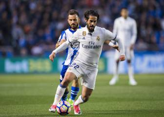 Isco exquisite as Madrid's plan B too much for Depor