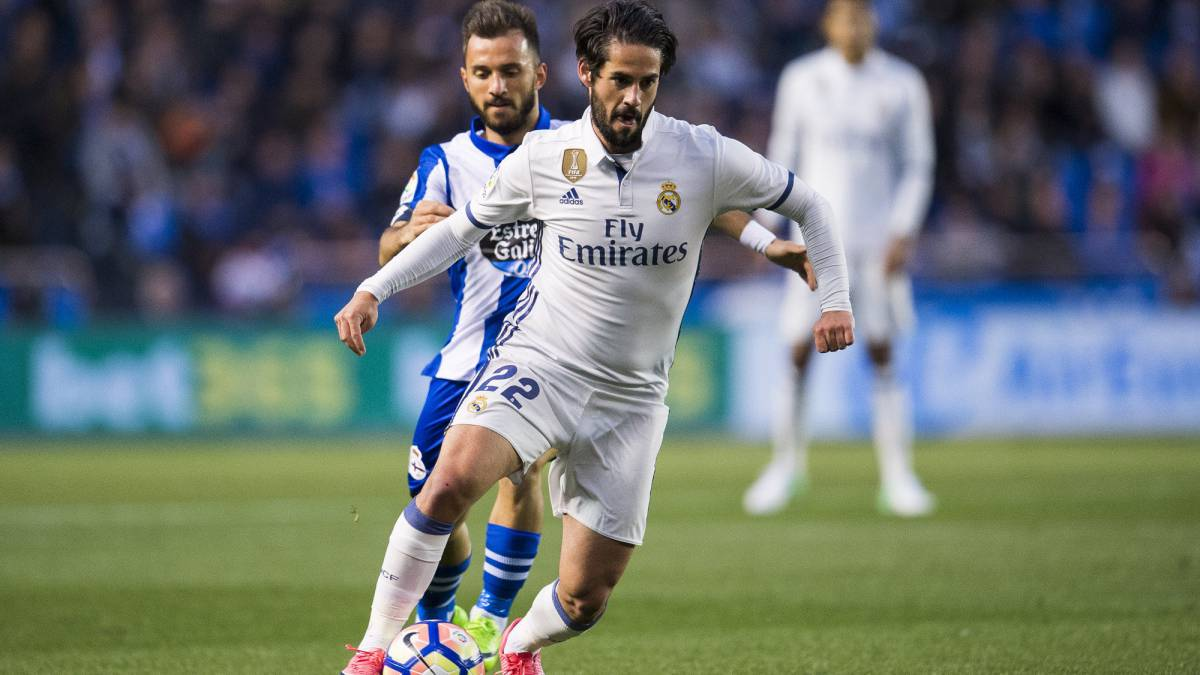 Isco was the protagonist as Madrid swept Depor aside with goals from Morata, James (2), Lucas, Isco, and Casemiro. Andone and Joselu for the hosts.
