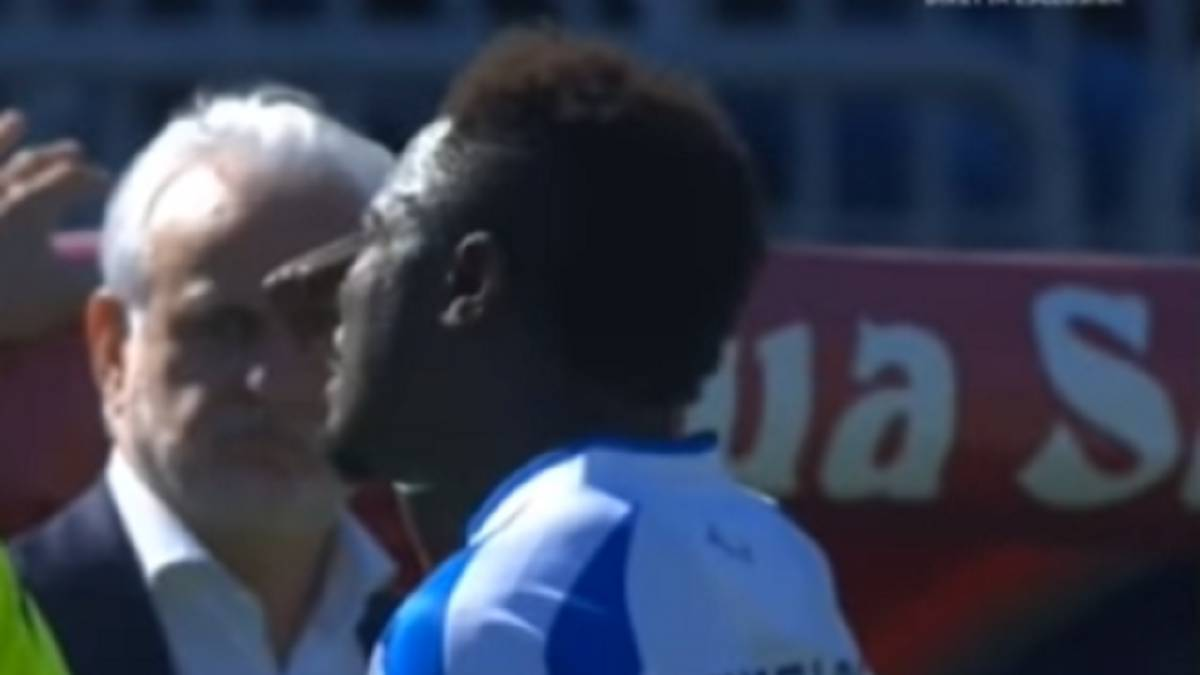 Football: 'Enough' as Muntari walks off in Cagliari racism storm