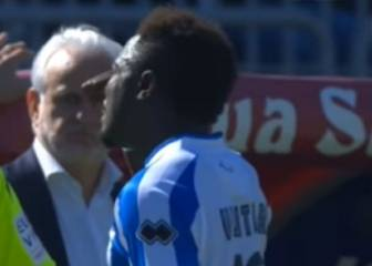'Enough' as Muntari walks off in Cagliari racism storm