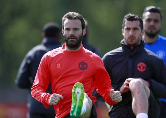 Man United players return to training ahead of Celta test