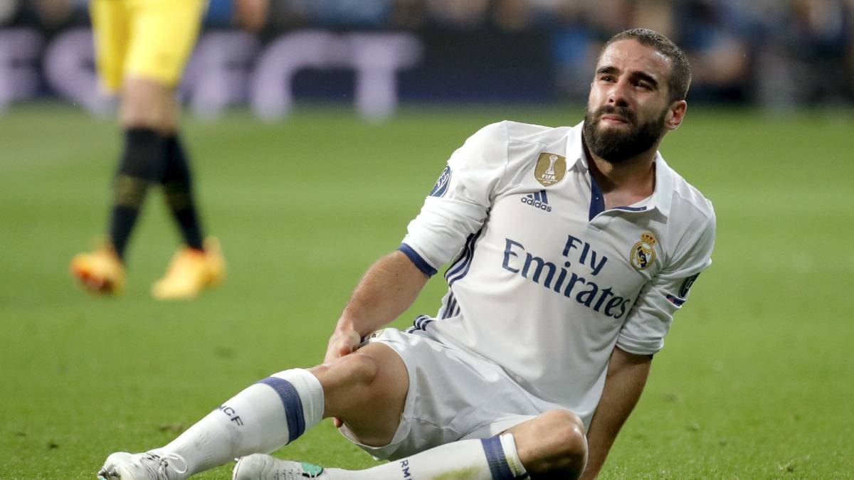 Real Madrid: Dani Carvajal hamstring injury confirmed