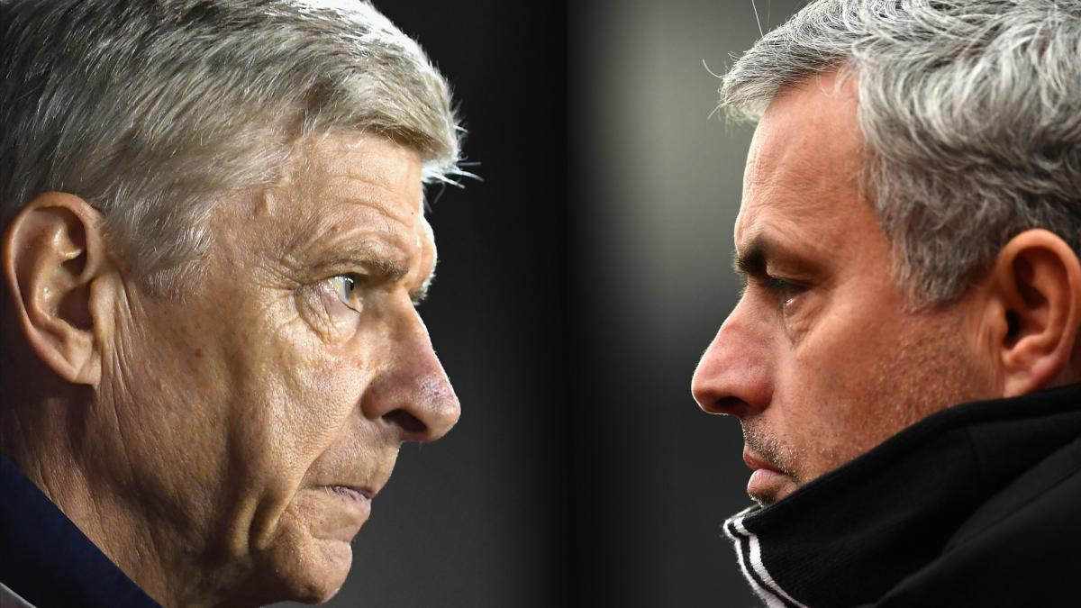 Mourinho: There are no problems between Wenger and I