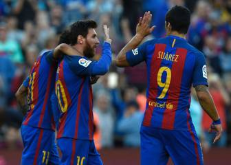Barça sink Villarreal with four strikes from MSN trident