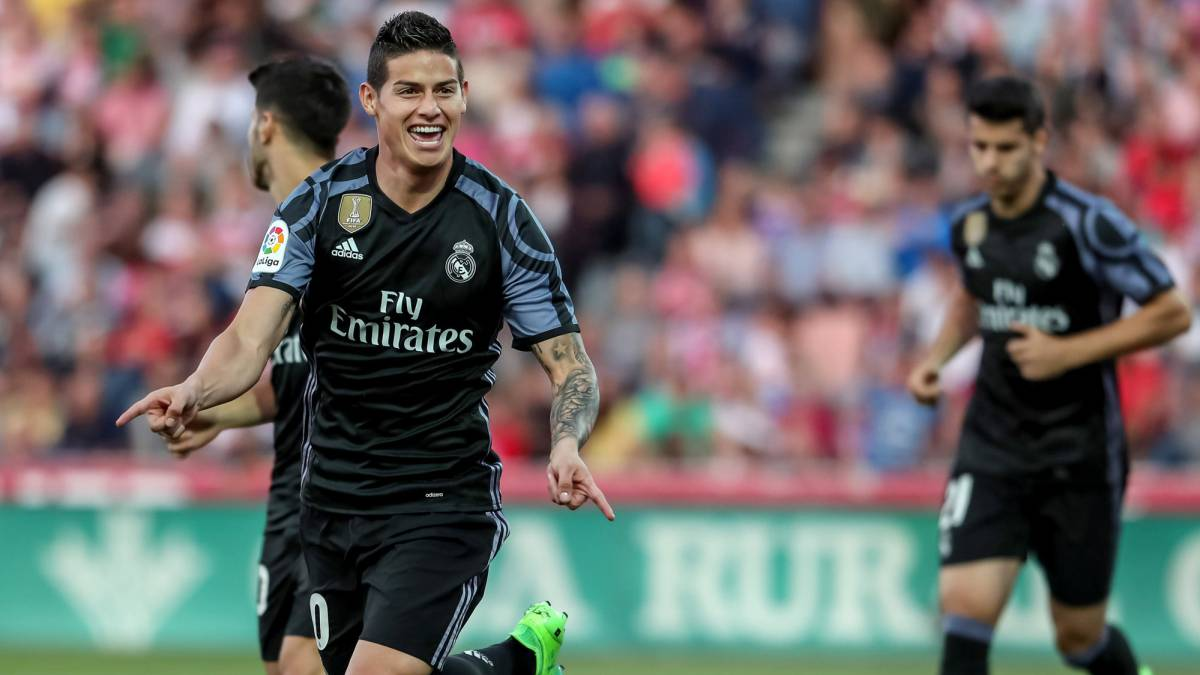 Granada - Real Madrid: match report, goals, as Morata and James seal win