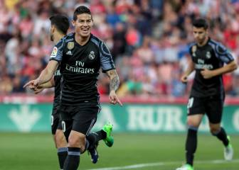 James and Morata lead Real to victory against Granada