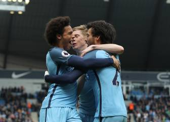 City thrash Palace to tighten grip on top-four finish