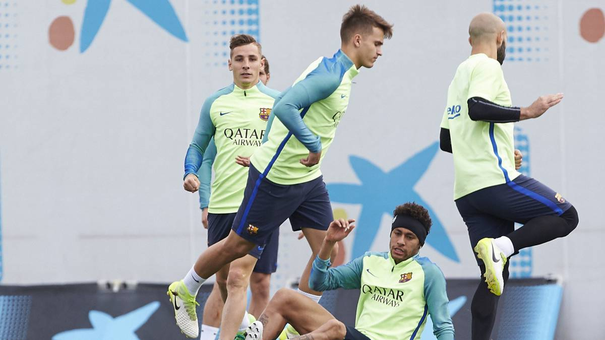 Alba on the bench for Barça; Digne and the MSN start