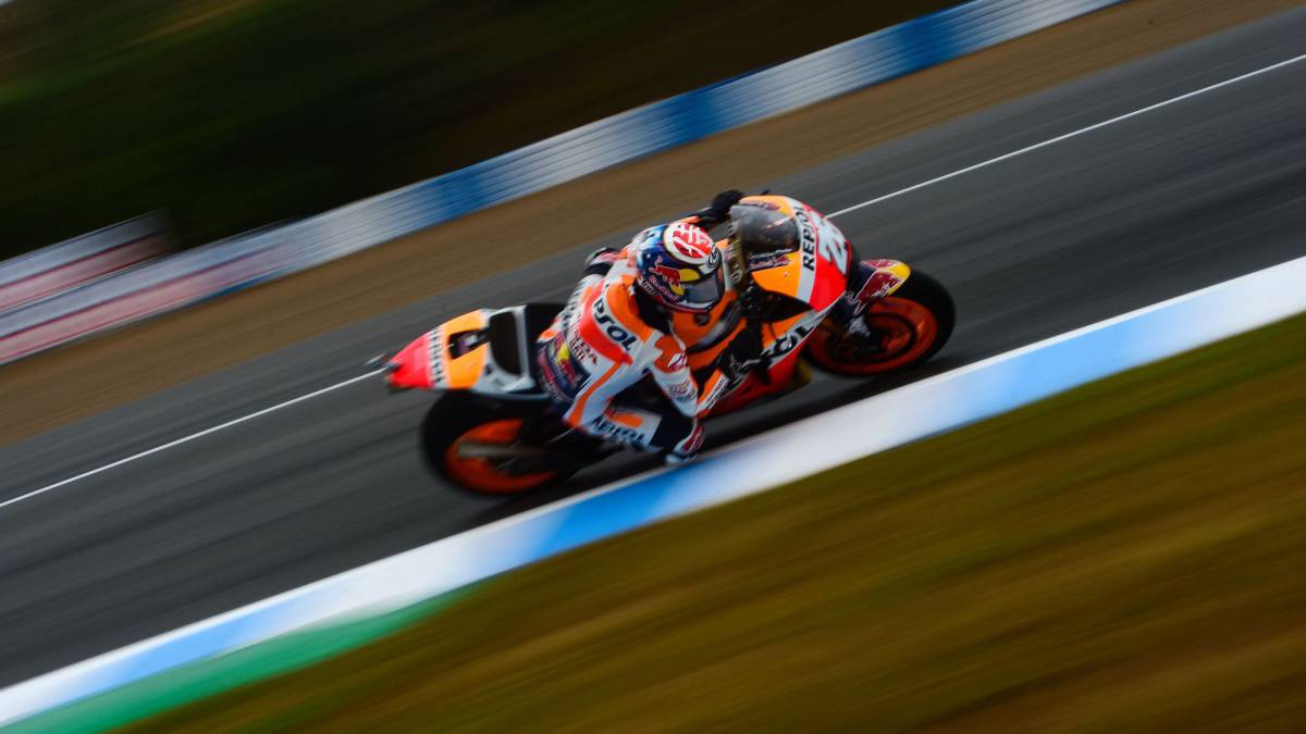 Dani Pedrosa just pips team mate Márquez to pole in Jerez