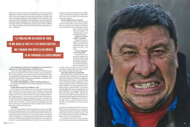 Mono Burgos spoke about beating cancer to Papel magazine.